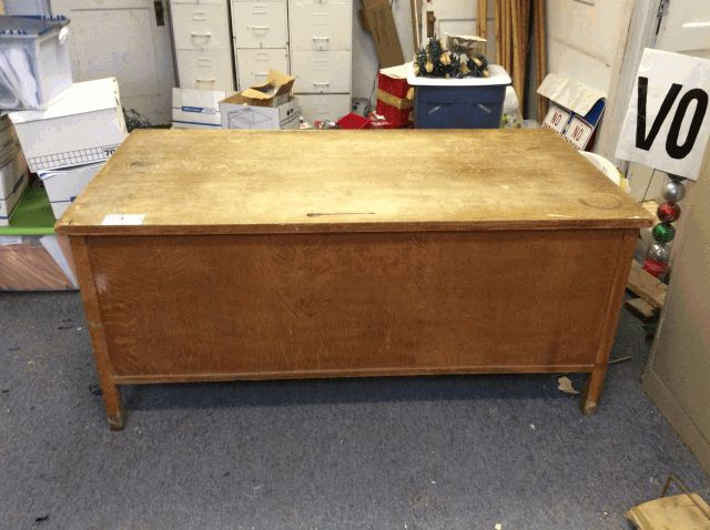 Desk From Indiana Co Ebth René Bates Auctioneers Inc
